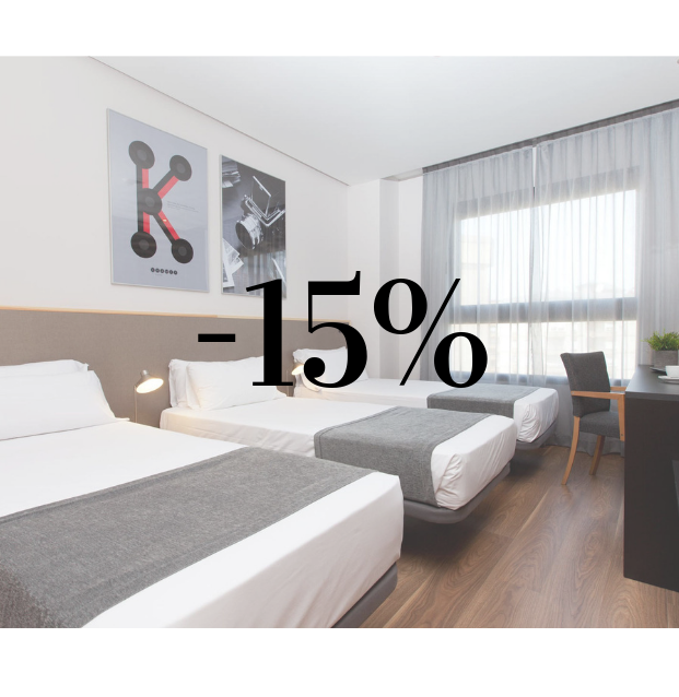 Special offer hotel valencia 15% off